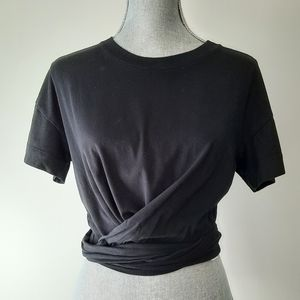 ARITZIA Wilfred Peverelle Black T-Shirt